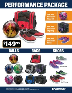 Ball Bag Shoe Performance Package Flyer - 149-95